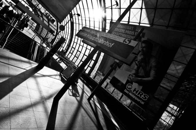 Berlin-Hauptbahn. Photography: Mike Dodson/Vagabond Images