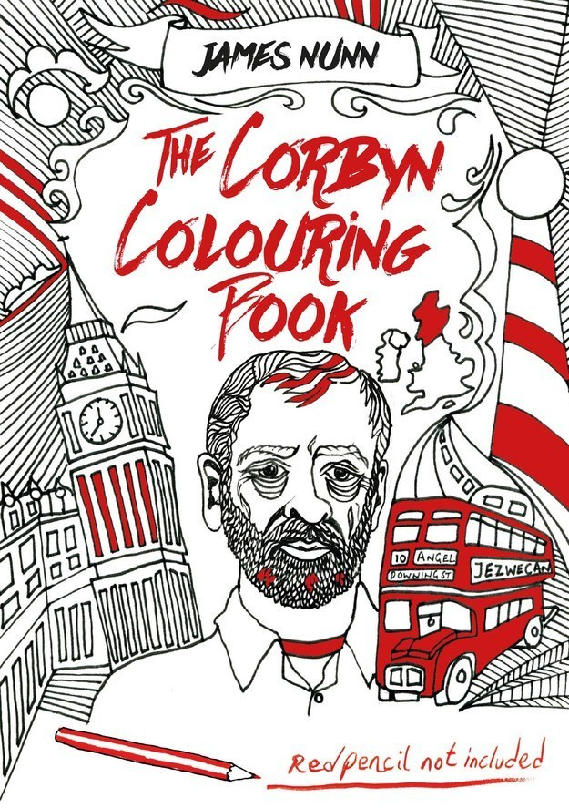 Jeremy Corbyn colouring book