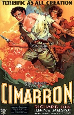 Cimarron_(1931_film)_poster