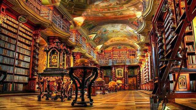 Czech library