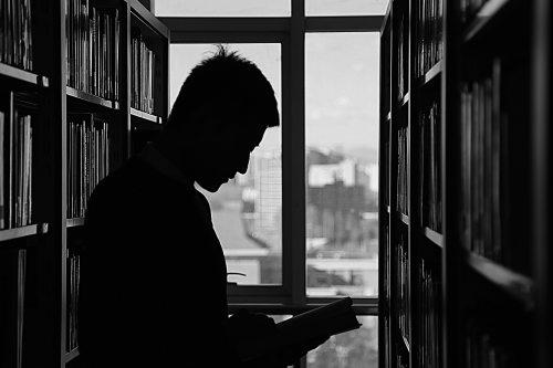 reading by window 2